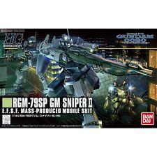 Bandai GM Sniper II Gundam Model Kits HG 1/144