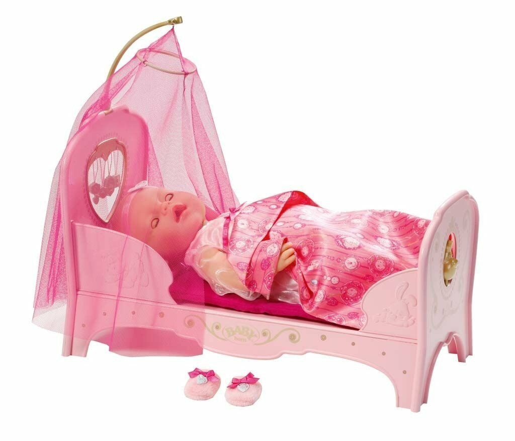 Zapf Creation 819562 Baby born interactive Prinzessinnen Bett  , NEU, OVP