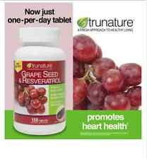 trunature® Grape Seed & Resveratrol, 150 Timed-Release Tablets