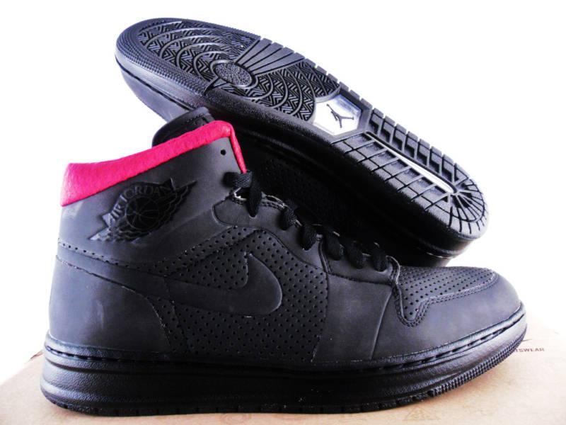 nike air jordan alpha - 1 9 - id black-red sz 9 1 slick spaß! 14aef9