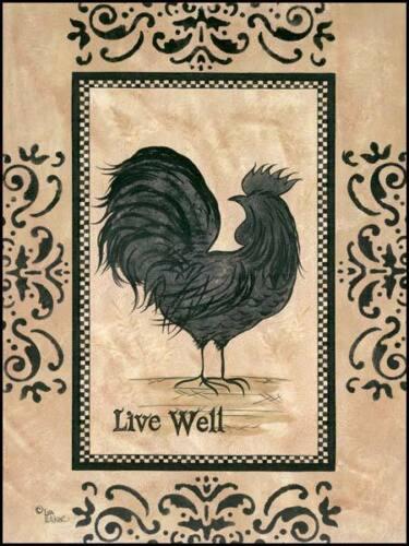Art Print Framed Or Plaque By Lisa Hilliker Live Well Hill248 R Home Décor Home Garden