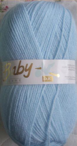 Blue 500 grams Baby Care DK 5 x 100gm balls