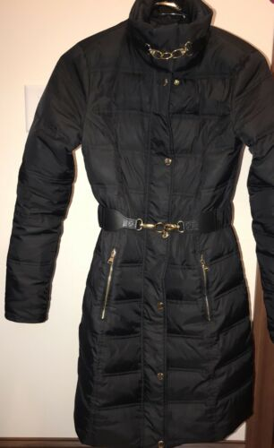 Slim Sort Jacket Down Fit Coat Xs Bæltet Express ZwHaq1x