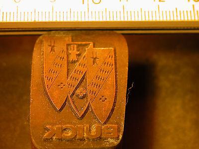 Buick Logo Schöner Oldtimer Stempel / Siegel Aus Metall