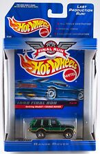 Hot Wheels 1999 Final Run Retired Range Rover #1 New In Box
