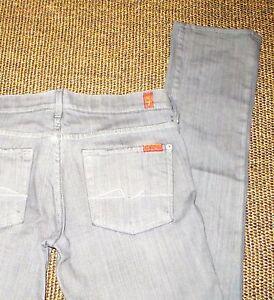 7 grigi L34 For dell'umanità Jeans All W28 Grey qRxPqwrp