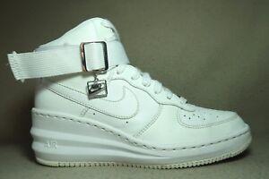 Scarpe da Eu 5 tacco 4 Nike alto Hi ginnastica Force Uk Lunar Sky 38 bianche bianche donna con 4rw4a
