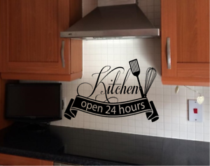 Wall Stickers Quotes Kitchen Wall Art Decor Decal AR11