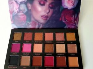 Details About Huda Beauty Rose Gold Remastered Eyeshadow Palette 18 Colours