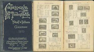CATALOGUE-DE-TIMBROS-POSTE-Ed-Yvert-amp-Tellier-1923-Illustratissimo