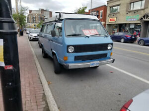1983 Volkswagen westfalia for sale