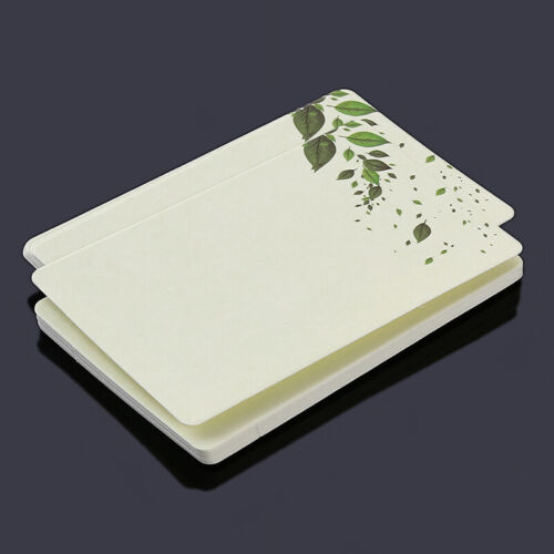 Rounded Blank Memory Card Word Book Small Card Birthdays Diy Office Notebook N3