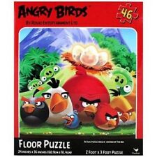 """Angry Birds 24"""" x 36"""" 46 Piece Lenticular Floor Puzzle-Brand New in Box!"""