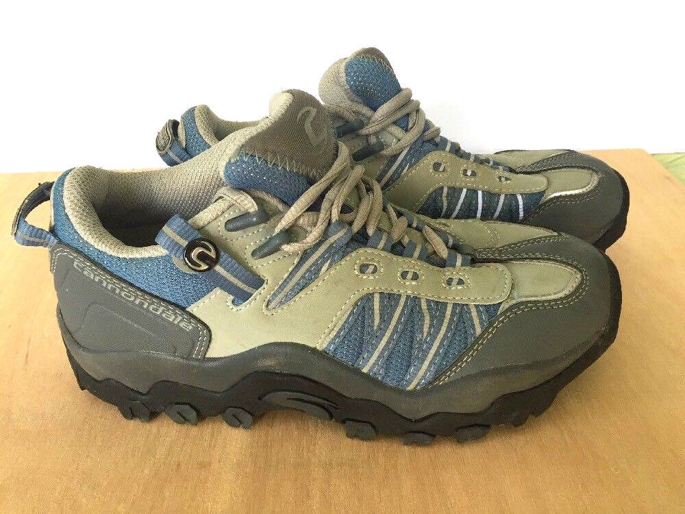 Cannondale Grey bluee Cycling Mountain  Bike shoes Size US M 6.5 W 7.5 Vegan  famous brand