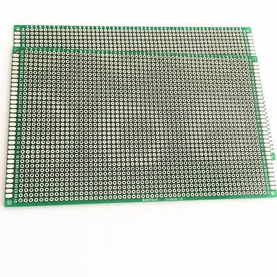 2PCS 9x15cm Double-sided Prototype PCB Tinned Universal Breadboard  FR4