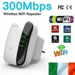 WiFi-Booster-Signal-Extender-Range-300Mbps-Internet-Network-Amplifier-Repeater