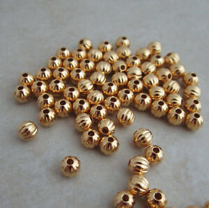gold-plated-beads-4mm-round-corrugated