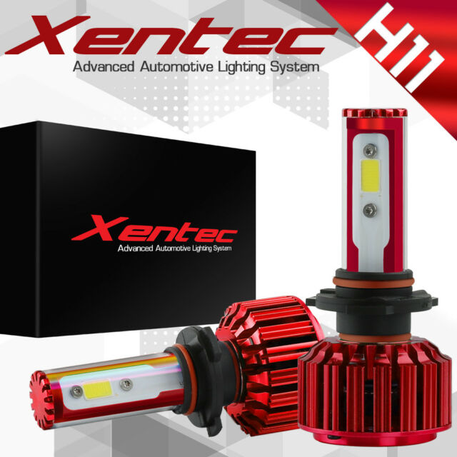 XENTEC LED HID Headlight kit H11 White for 2012-2015 Toyota Prius Plug-In