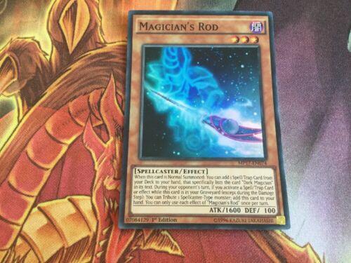 YuGiOh Magician/'s Rod Super MP17-EN074 Super Rare 1st Edition Trading Card