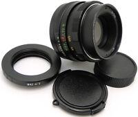 HELIOS 44m 2/58 Russian Lens 4/3 Olympus E330 E450 E510 E520 E600 E620 E30 E3 E5