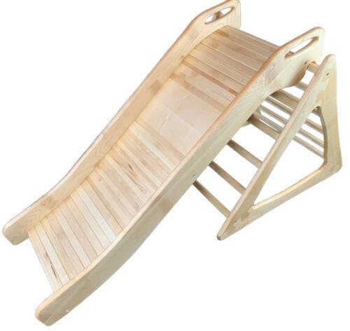 Baby Rutsche für Pikler Kletterdreieck Naturholz