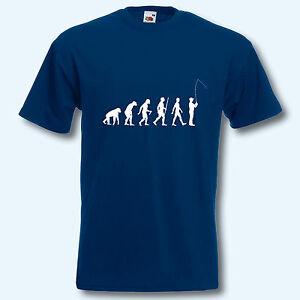 Evolution Angeln Stetig T-shirt Bekomme Eins Gratis S-xxxl Kaufe Eins Fun-shirt