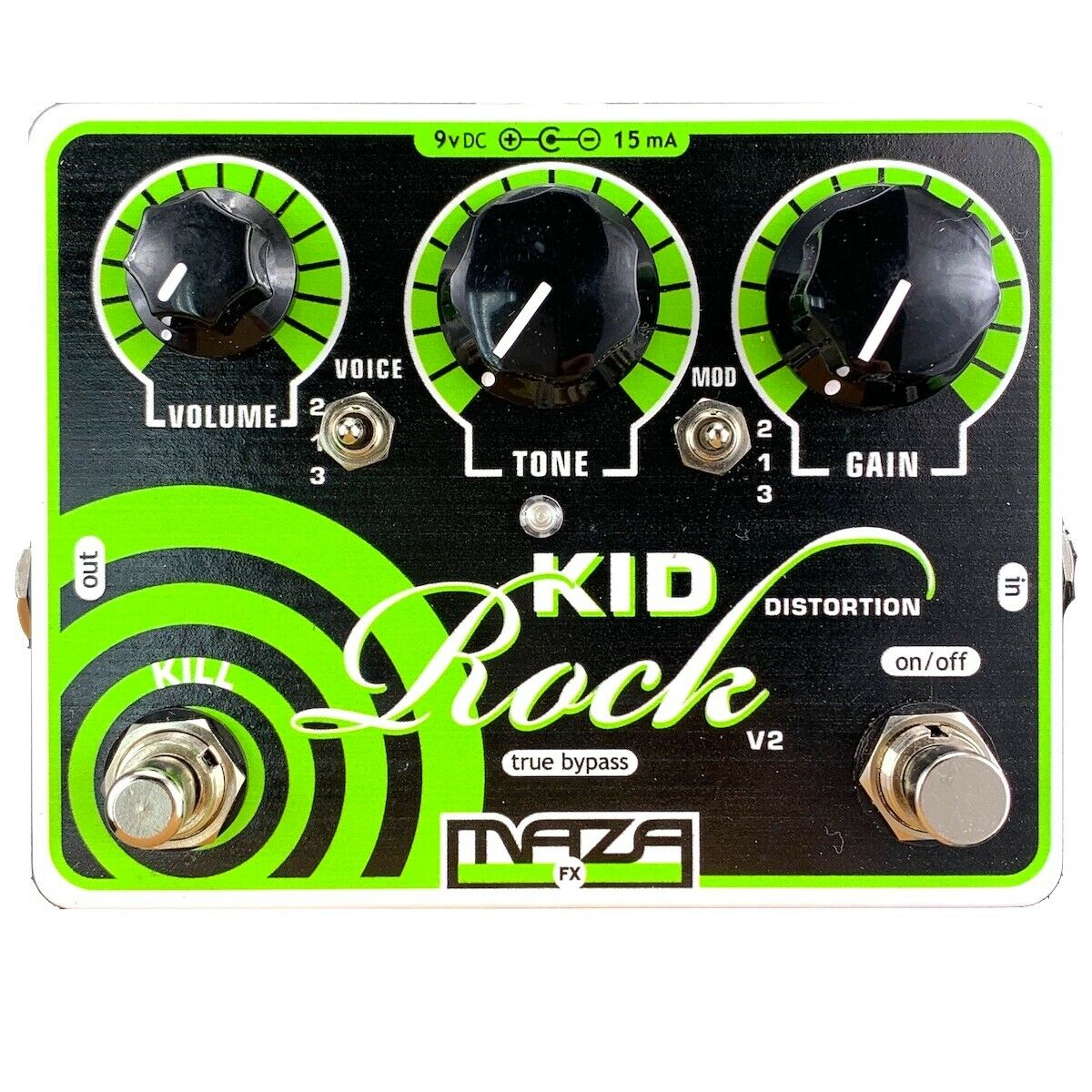 Maza Fx Verzerrung Gitarre Pedal V2 - Kinder Rock
