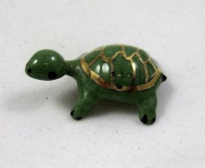 Retired Hagen Renaker Coin Turtle Baby