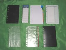 Compact Tab Page Amp Accessory Lot Franklin Covey Planner Refill Fill Set 520