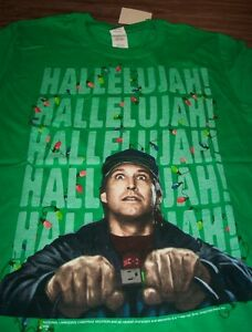 Christmas Vacation Hallelujah.Details About National Lampoon S Christmas Vacation Hallelujah T Shirt Large New W Tag