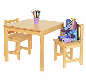 kinder sitzgruppe 06 mit tisch und st hle hocker holz set kinderzimmer m bel ebay. Black Bedroom Furniture Sets. Home Design Ideas