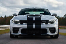 New Widebody Charger Scat Pack Rally Stripes Carbon Fiber Fits Dodge Decals Srt