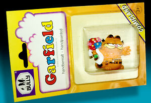 Garfield-BULLY-Comicland-1978-Blister-Pack-Boxed-Motif-With-Bouquet-gt