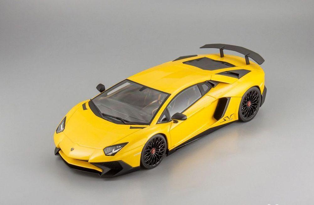 Lamborghini aventador lp750-4 superveloce gelbe 1,18 kyosho c09521y