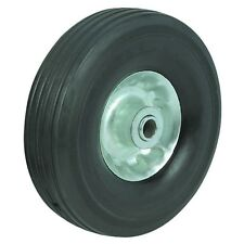 10 In Solid Hard Rubber Replacement Tire Wheel And Rim Hub For Dolly Hand Cart