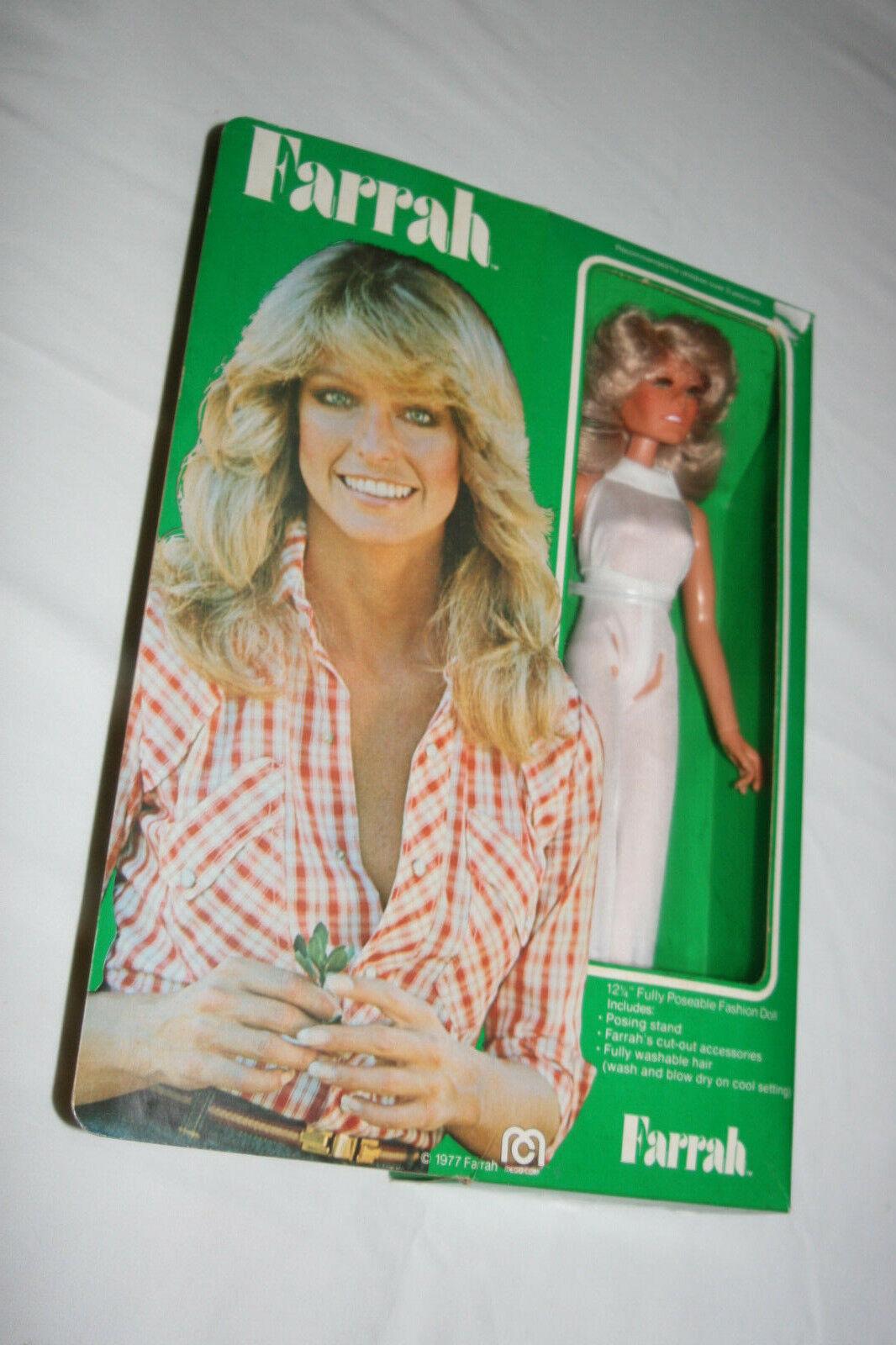 1977 MEGO Corp 12 1 4 Inch Superstars Farrah Fawcett Doll
