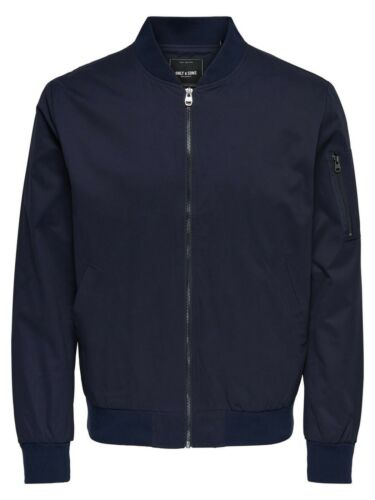 Night Herren Jacke Navy Only Bomber Sky Jj42 Blau Sons amp; HXIPXxanq