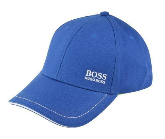 7a00936312d hugo boss mens cap 1 baseball cap blue golf authentic osfm hat new 50245070