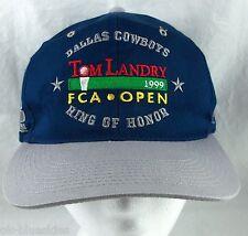 Dallas Cowboys Tom Landry Snapback Baseball Hat Ball Cap 1999 FCA Ring of Honor