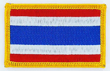 PATCH ECUSSON BRODE DRAPEAU THAILANDE   INSIGNE THERMOCOLLANT NEUF FLAG PATCHE