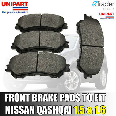 New Fits Nissan Qashqai J10 1.6 Genuine Mintex Front Brake Pads Set