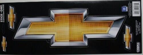 chevy chevrolet bow tie 3 sticker set stick onz decal truck heartbeat duramax