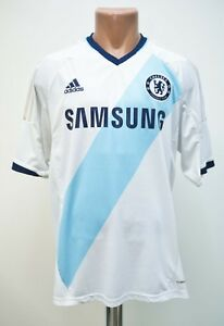 CHELSEA-2012-2013-AWAY-FOOTBALL-SHIRT-JERSEY-ADIDAS-SIZE-L
