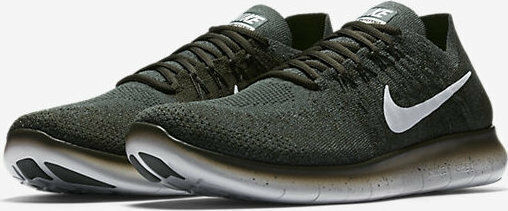 Nike Para hombres Free Flyknit RN Flyknit Free 2017 Vintage Verde/Sequoia 880843-300 1cd1b9