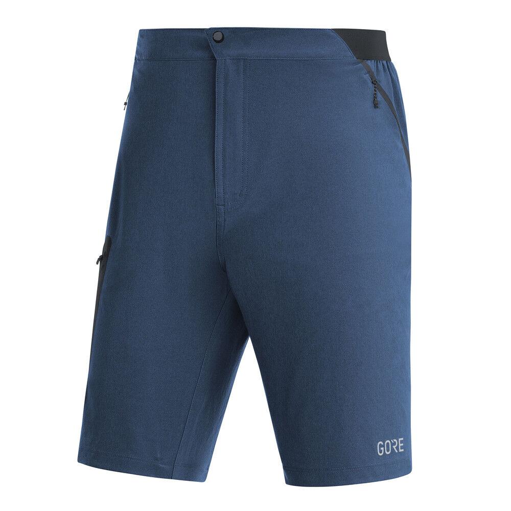 GORE WEAR r5 Shorts Deep Water blu Uomo Pantaloncini Corsa Blu