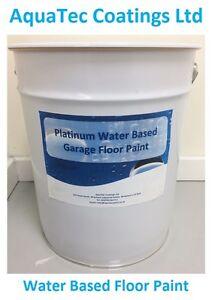Platinum Water Based Garage Floor Paint Beige 20l Fast