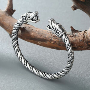 Vikings-Wolf-Bracelets-For-Men-Viking-Bracelet-Wristband-Cuff-Bracelets-Bangles