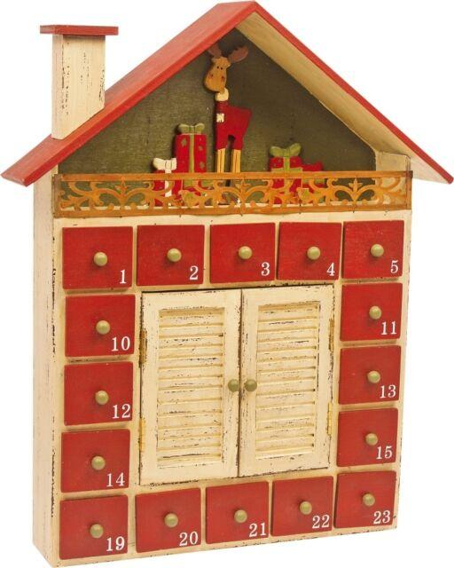 Weihnachtskalender Füllen.Legler Adventskalender Winterhütte Weihnachtskalender Zum Selber Füllen
