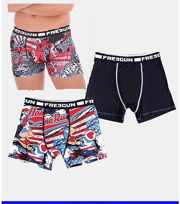 FREEGUN Mens Boxers