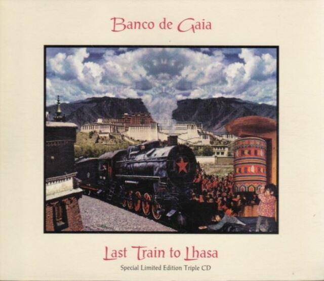 BANCO DE GAIA last train to lhasa (3X CD album, limited edition) downtempo, 1995